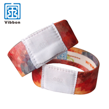 Custom Logo Activity Party Elastic Wristband