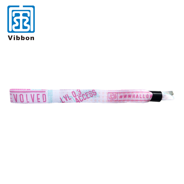 new style personalised cheap custom cloth bracelets