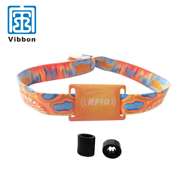 professional silicon rfid uhf wristband as payment card