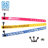 OEM ODM cheap custom woven wristbands for events