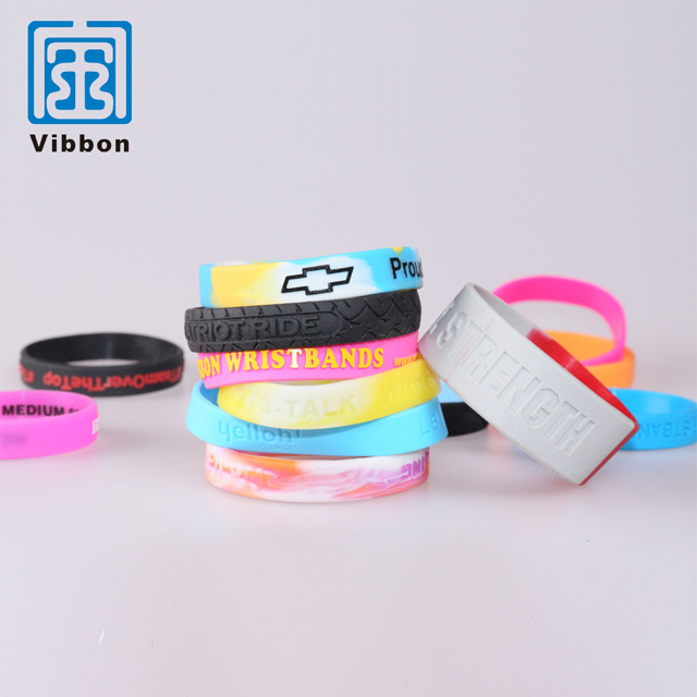 Hot sale china supplier custom design silicone bracelet for events