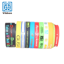 Custom silicon wrist band / rubber bracelet / custom silicone wristbands