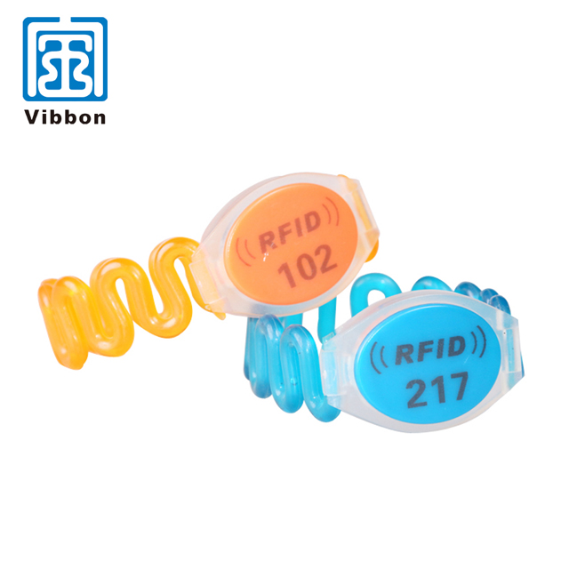 High quality cheap price 13.56MHZ access control woven rfid wristband